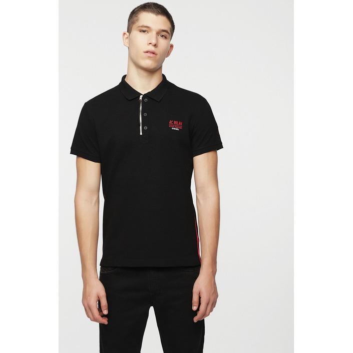 Diesel Men's Polo Shirt Black 271459 - black S