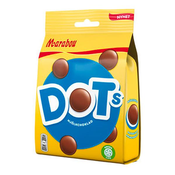 Marabou Dot's - 140 gram