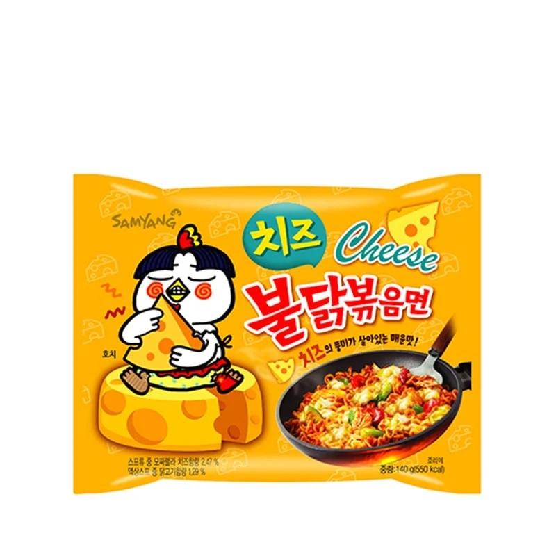 Samyang Hot Chicken Flavour Cheese Ramen 140g