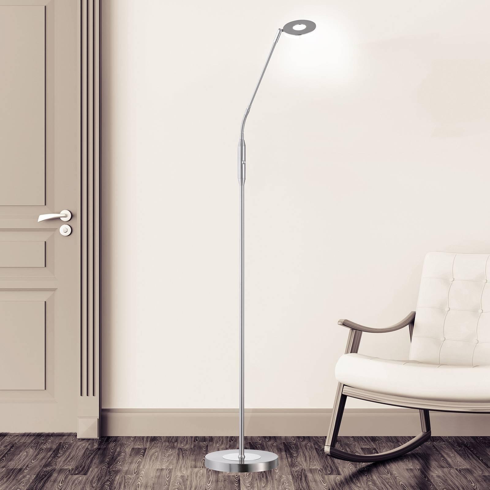 Dent-LED-lattiavalo, CCT, 1-lamp., nikkeli