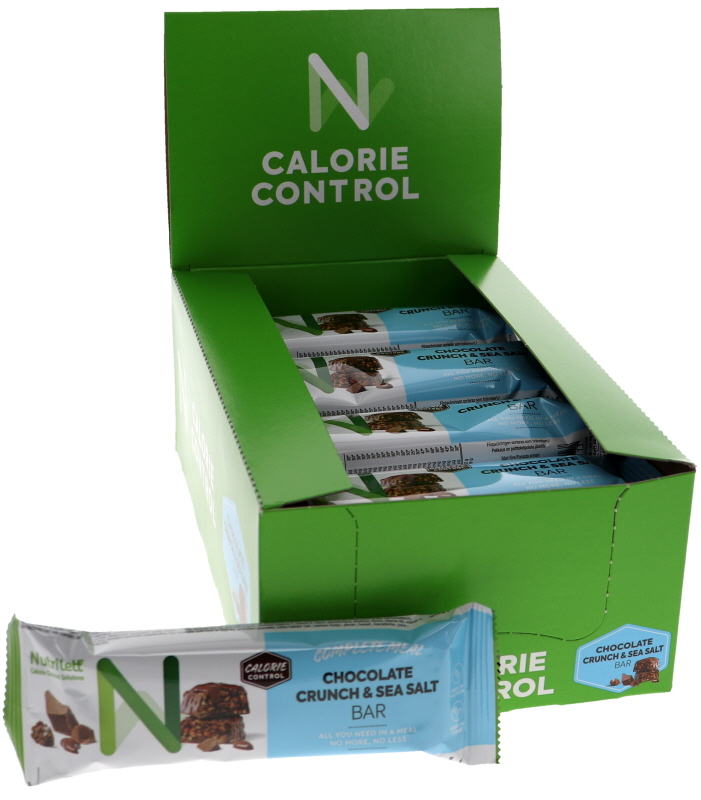 Mealbars Chocolate Crunch & Seasalt 20-pack - 38% rabatt