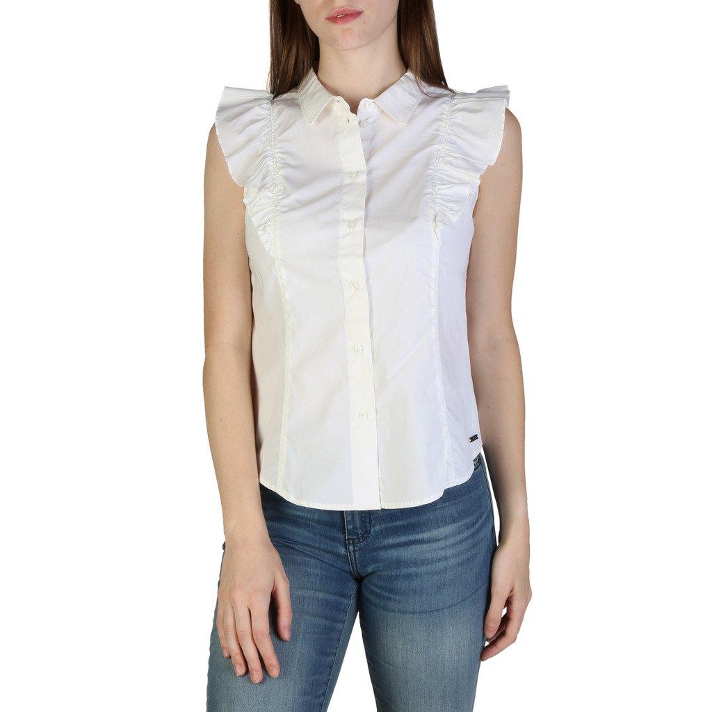 Armani Exchange Women's Shirt Various Colours 3ZYC08YNP9Z1100 - white S