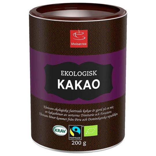 Khoisan Tea Rättvisemärkt Kakaopulver, 200 g