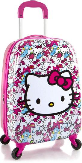 Hello Kitty Spinner Trillekoffert 39L, Pink