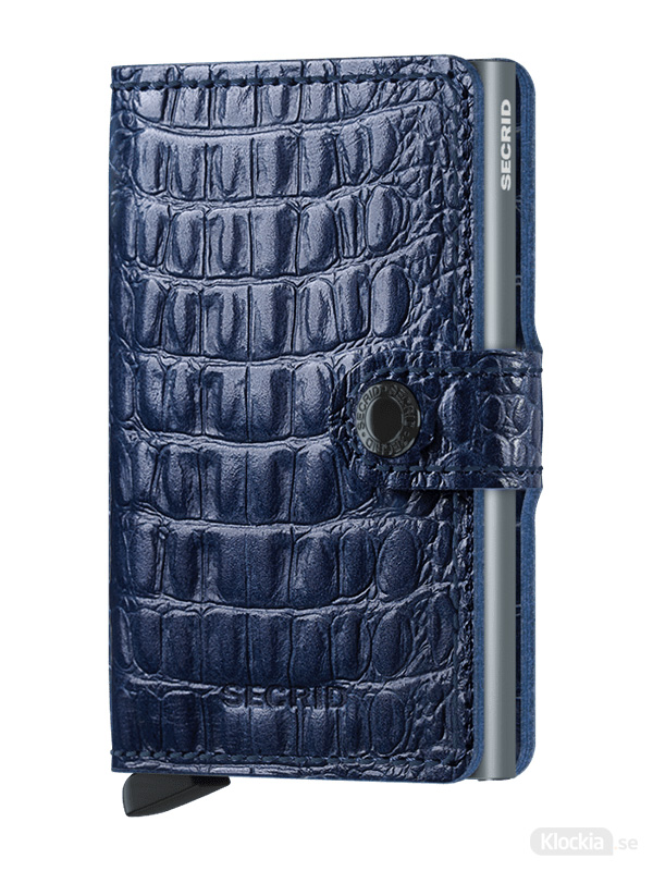 Plånbok SECRID Miniwallet Nile Blue