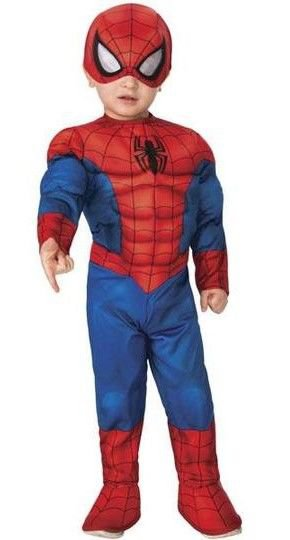 Spider-Man Utkledning 12-24 Måneder