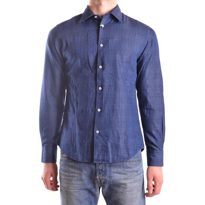 Altea Men's Shirt Blue 160927 - blue M
