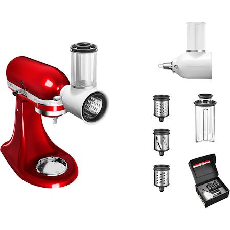 Tilbehørspakke til kjøkkenmaskin Hvit/stål Sett med 5KSMFGA, 5KSMVSA og 5KSMF
