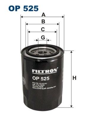 Öljynsuodatin FILTRON OP 525