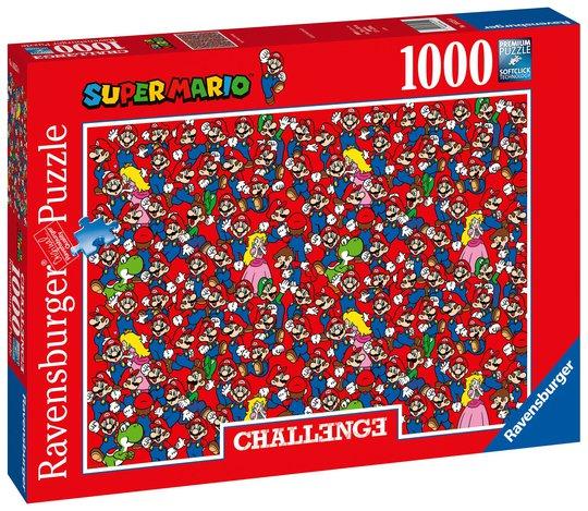 Ravensburger Puslespill Challenge Super Mario Bros 1000 Brikker