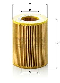 Öljynsuodatin MANN-FILTER HU 925/4 x