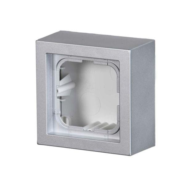 ABB Impressivo Korotuskehys 1-paikkainen Alumiini