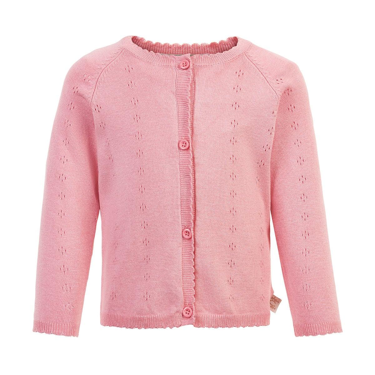 Creamie Pointelle Kofta, Pink Icing, 80