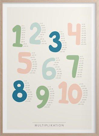Multiplikasjon Poster 30x40 cm