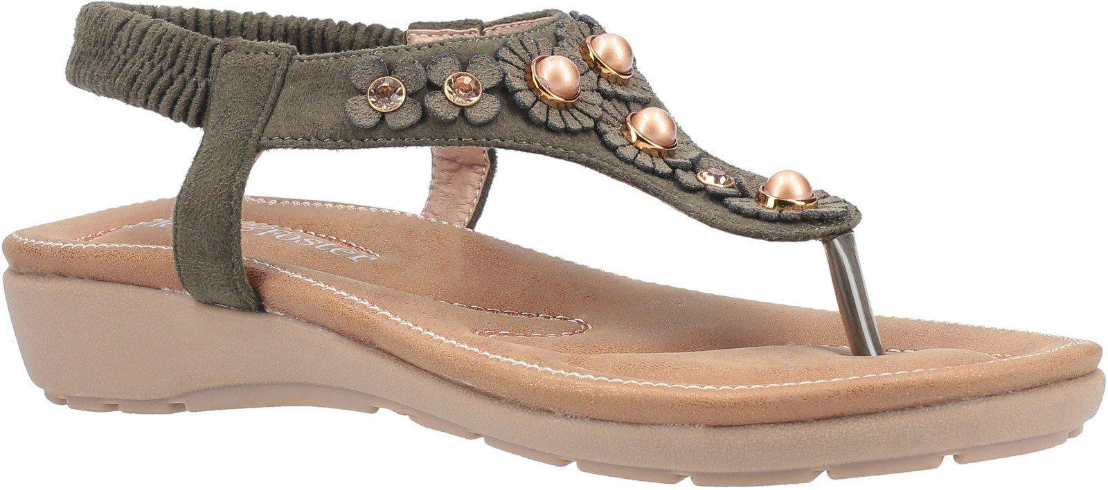 Fleet & Foster Women's Phoebe Slip On Sandal Various Colours 30100 - Khaki 3