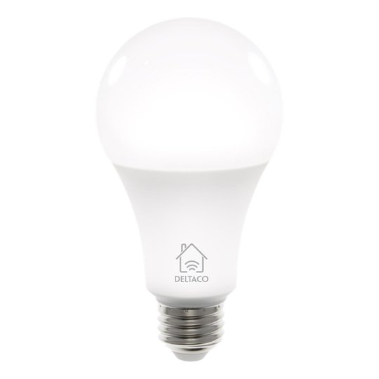 Deltaco Smart Lampa Vit - E27