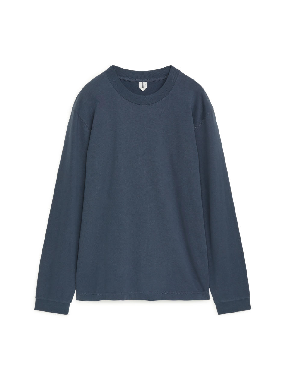 Long-Sleeved Organic Cotton T-Shirt - Blue