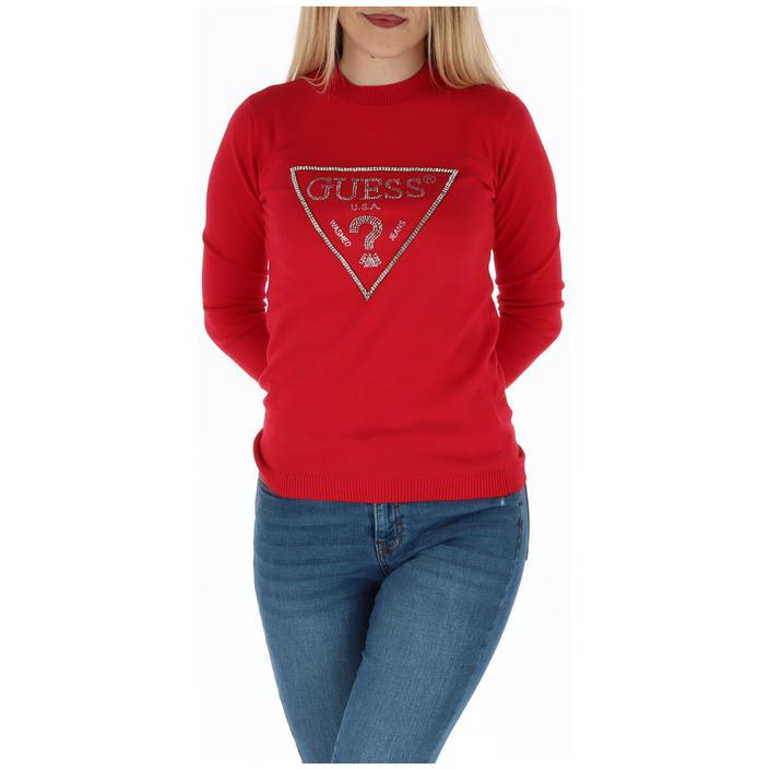 Guess Women's Sweater Red 301048 - red XS
