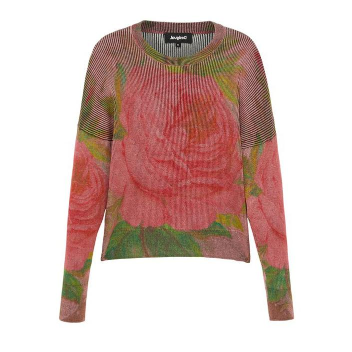 Desigual Women's Sweater Red 319445 - red S