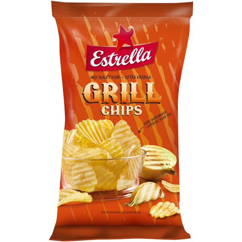 Grillchips - 35% rabatt