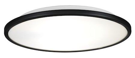 Disc taklampe - Svart