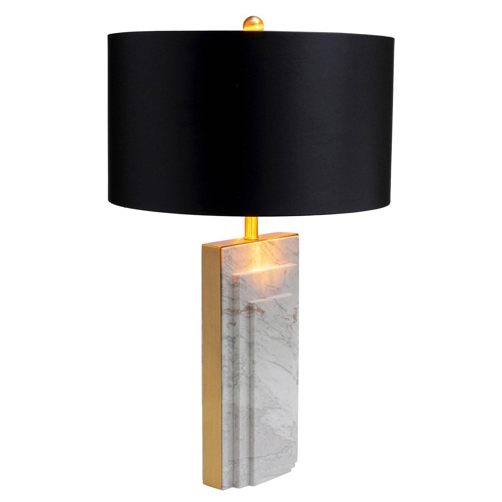 KARE Rumba Marble bordlampe marmor, hvit
