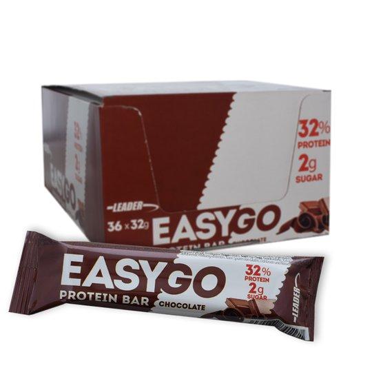 """Laatikollinen Proteiinipatukoita """"Chocolate"""" 36 x 32g - 75% alennus"""