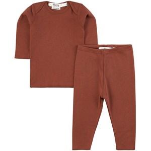 Bonpoint Pyjamas Röd 3 mån