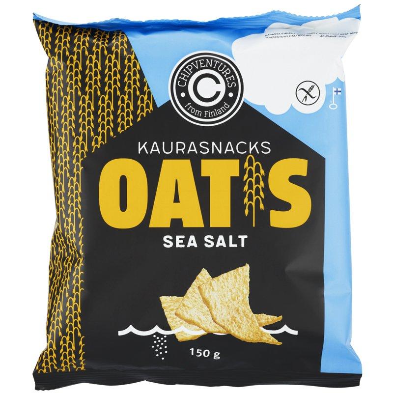 """Kaurasnacks """"Sea Salt"""" 150g - 39% alennus"""