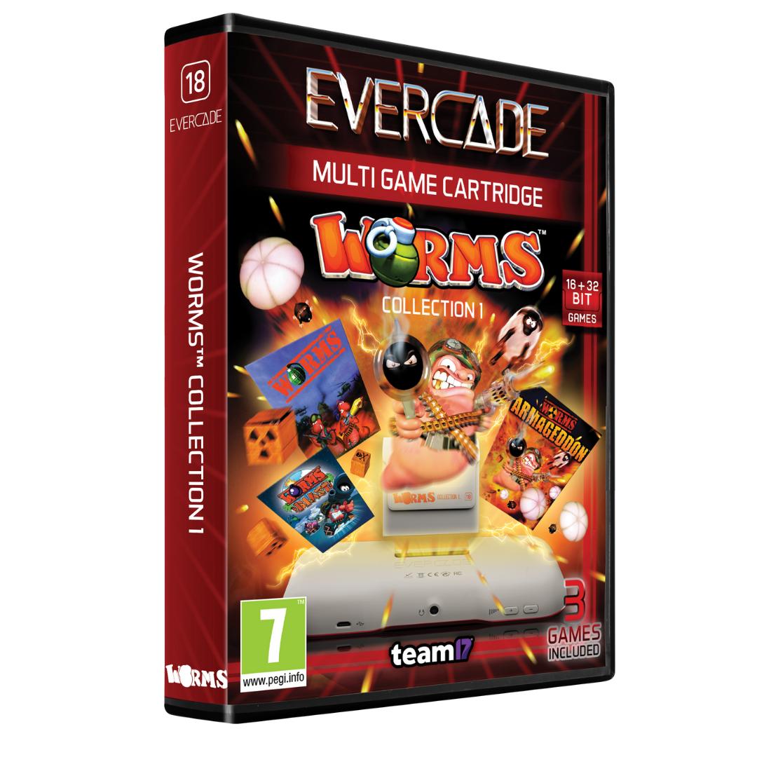 Evercade Worms Collection 1 Cartridge