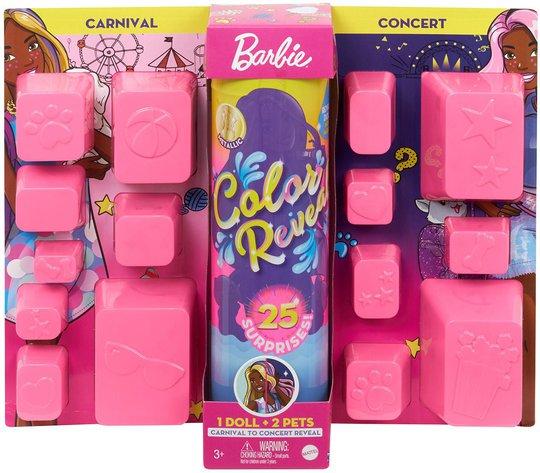 Barbie Color Reveal Carnival To Concert Dukke