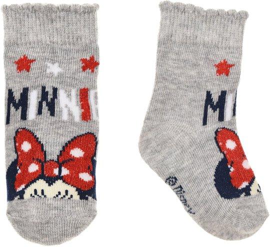 Disney Minni Mus Strømper, Grå 6-12 månader
