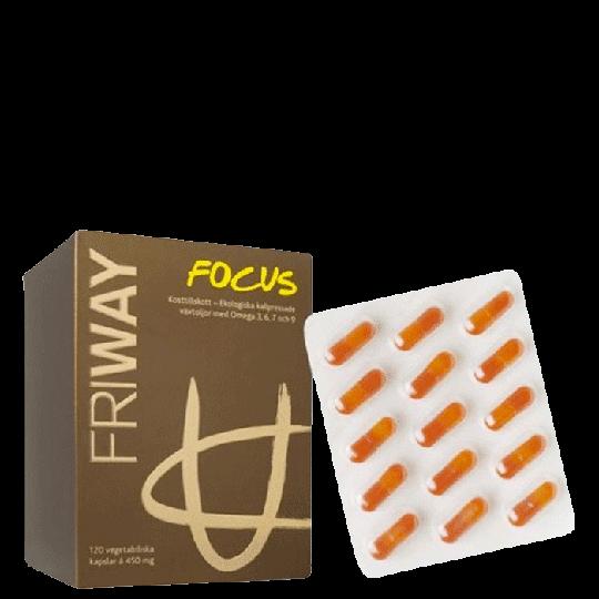 Friway Focus, 120 kapslar