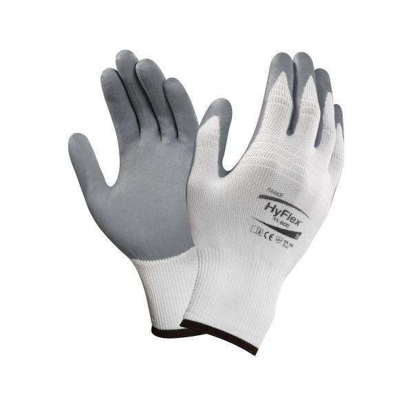 Ansell Hyflex Foam 11-800 Hanske Nitrilskum/Nylon Størrelse 6