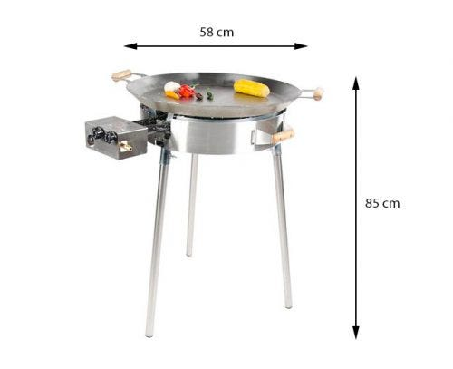 GrillSymbol Stekhelle Gass Pro-580