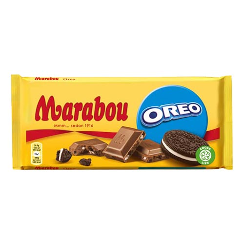 Marabou Oreo Chokladkaka - 185 gram