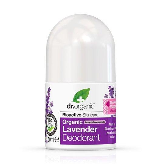 Dr. Organic Lavender Deodorant, 50 ml