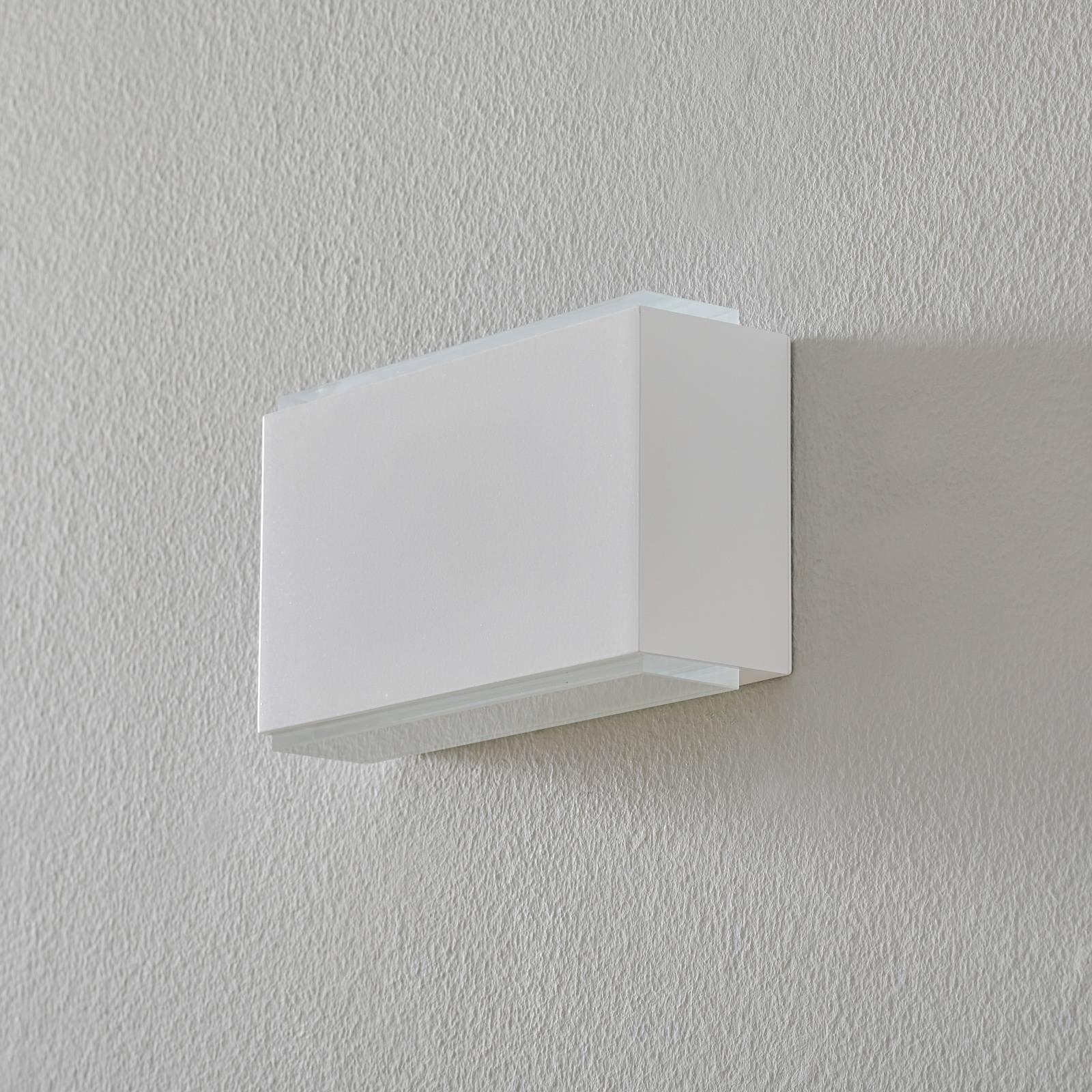 BEGA 50072 LED-vegglampe 3 000 K 18 cm hvit 1630lm