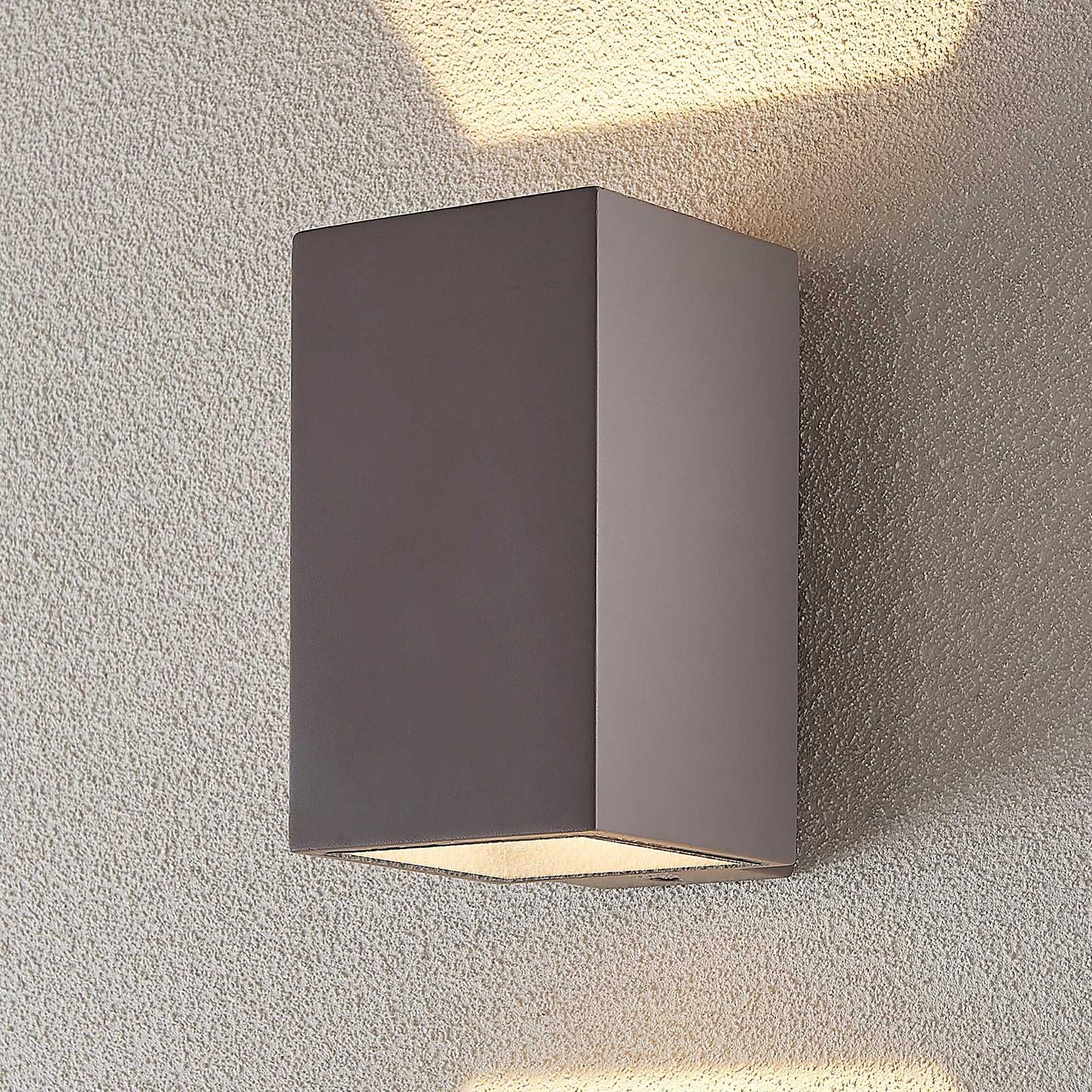 LED-ulkoseinävalaisin Kaniel betonista