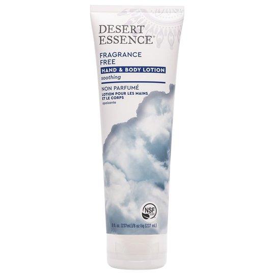 Desert Essence Fragrance Free Hand & Body Lotion, 237 ml