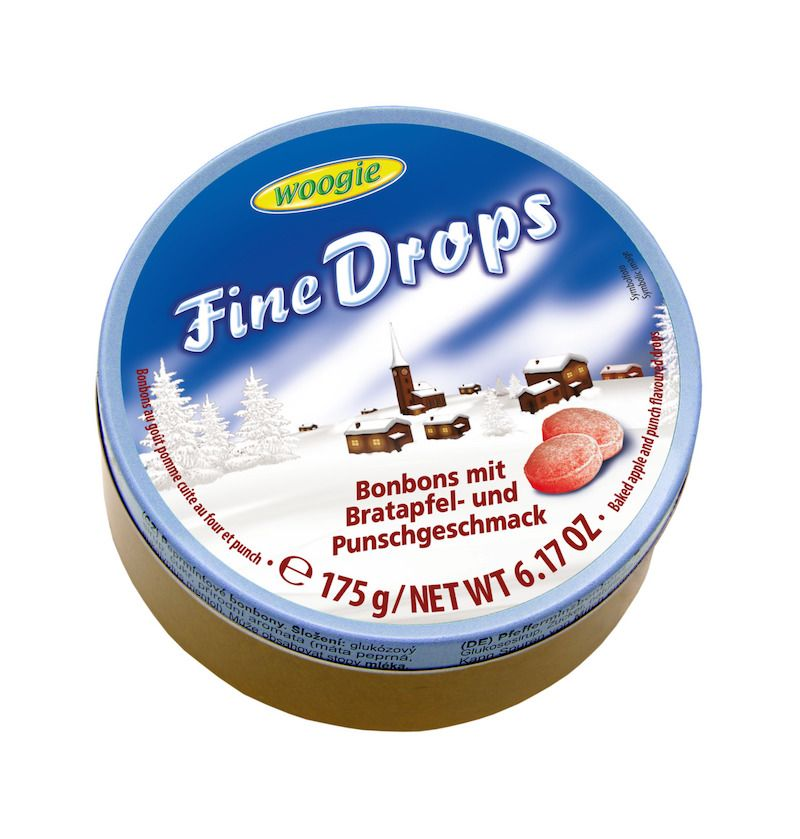 Woogie Fine Drops - Äpple & Punch 175g