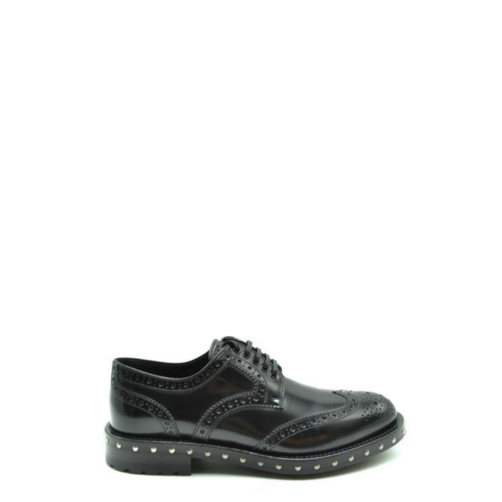 Dolce & Gabbana Women's Lace up Shoe Black 177524 - black 36