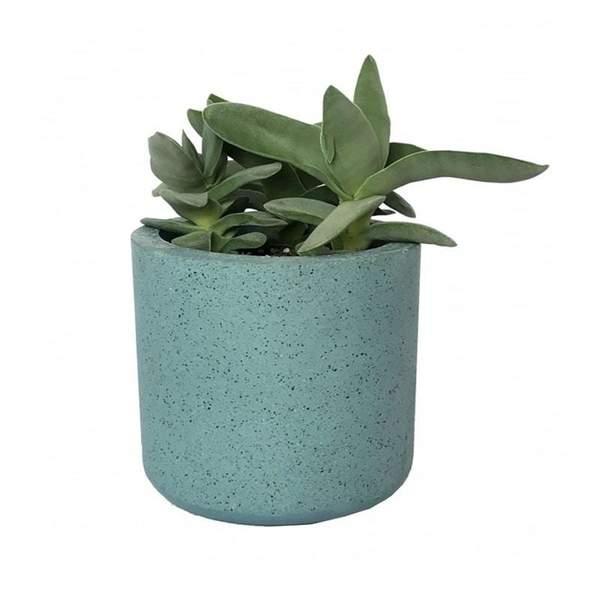Cylinder Granite Blue Pot