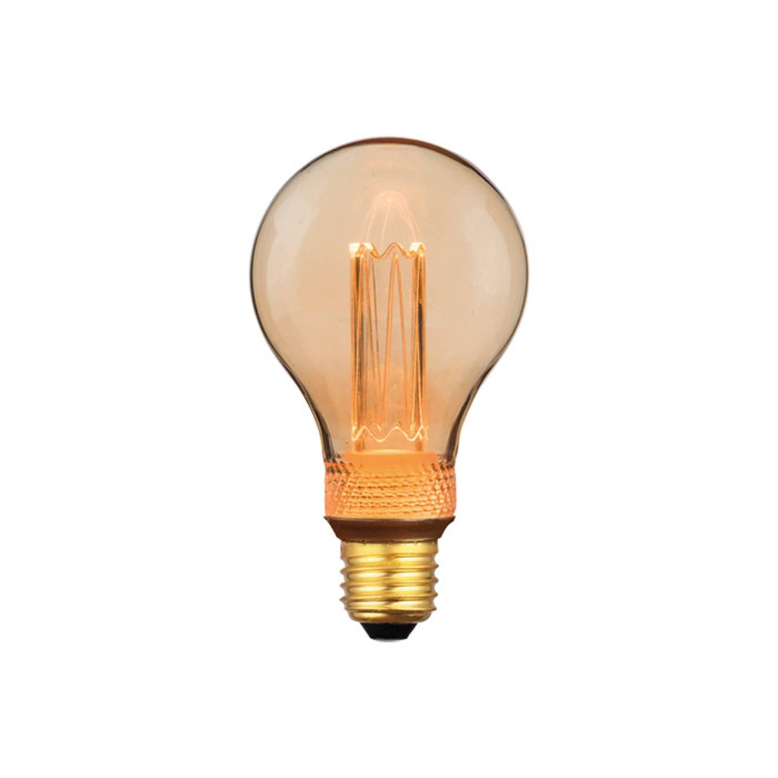 LED-lamppu E27 5W lämmin valkoinen 3-Step-dim 14cm
