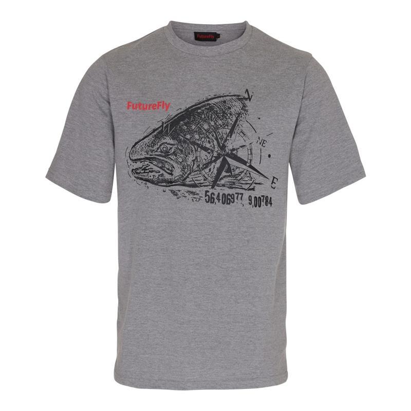 FutureFly Basic Line t-shirt L Grey