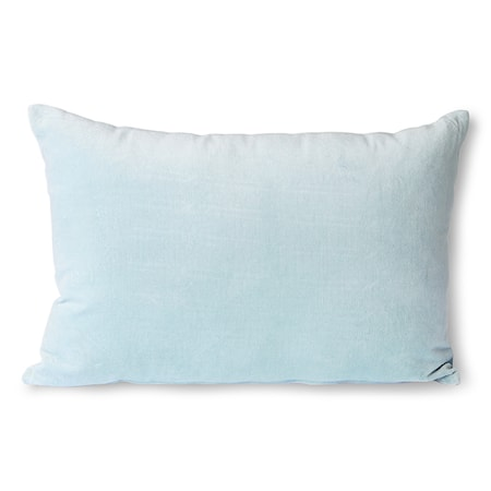 Velvet Cushion ice Blue 40x60 cm