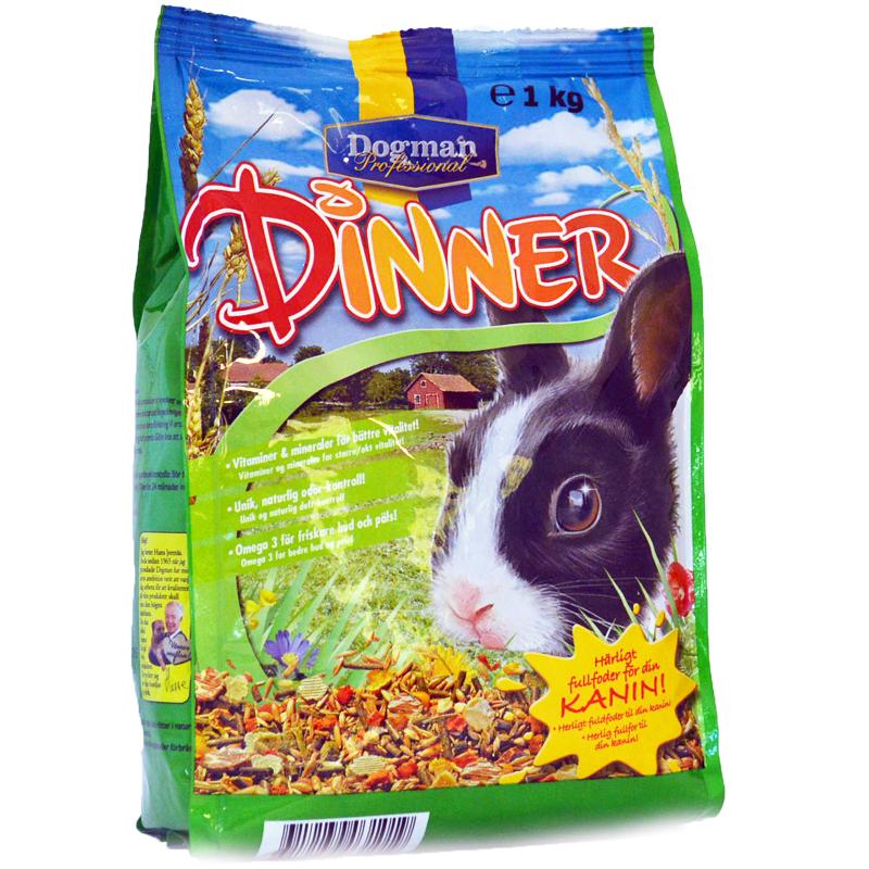 Kanin Dinner 1kg - 50% rabatt