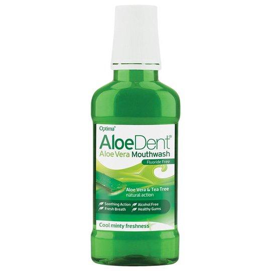 AloeDent Aloe Vera Mouthwash Fluoride Free, 250 ml