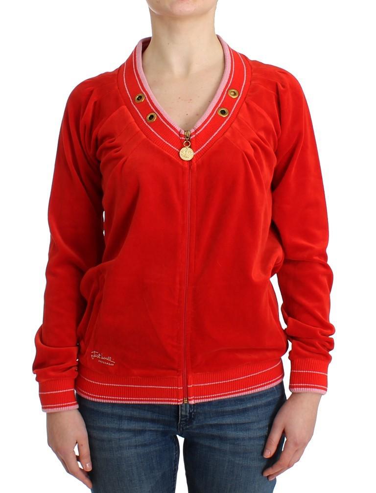 Cavalli Women's Sweater Red SIG11902 - IT42|M