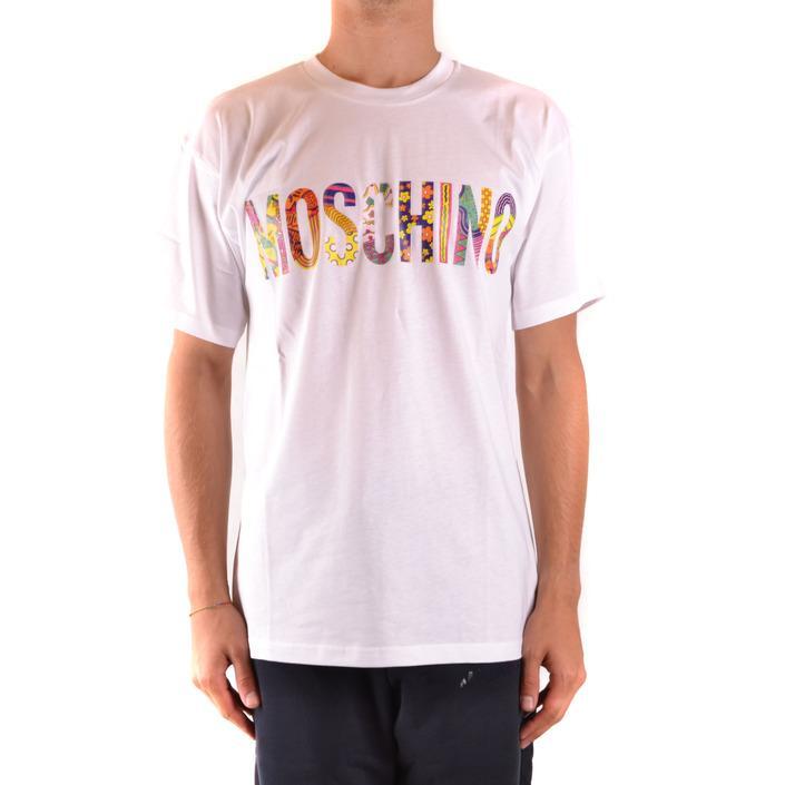 Moschino Men's T-Shirt White 169284 - white XS